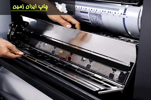 چاپ افست و مراحل لیتوگرافی