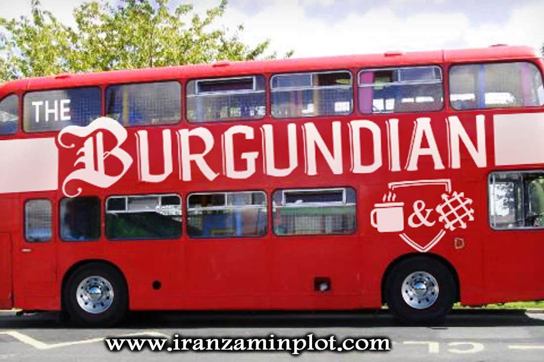 چاپ استیکر اتوبوس