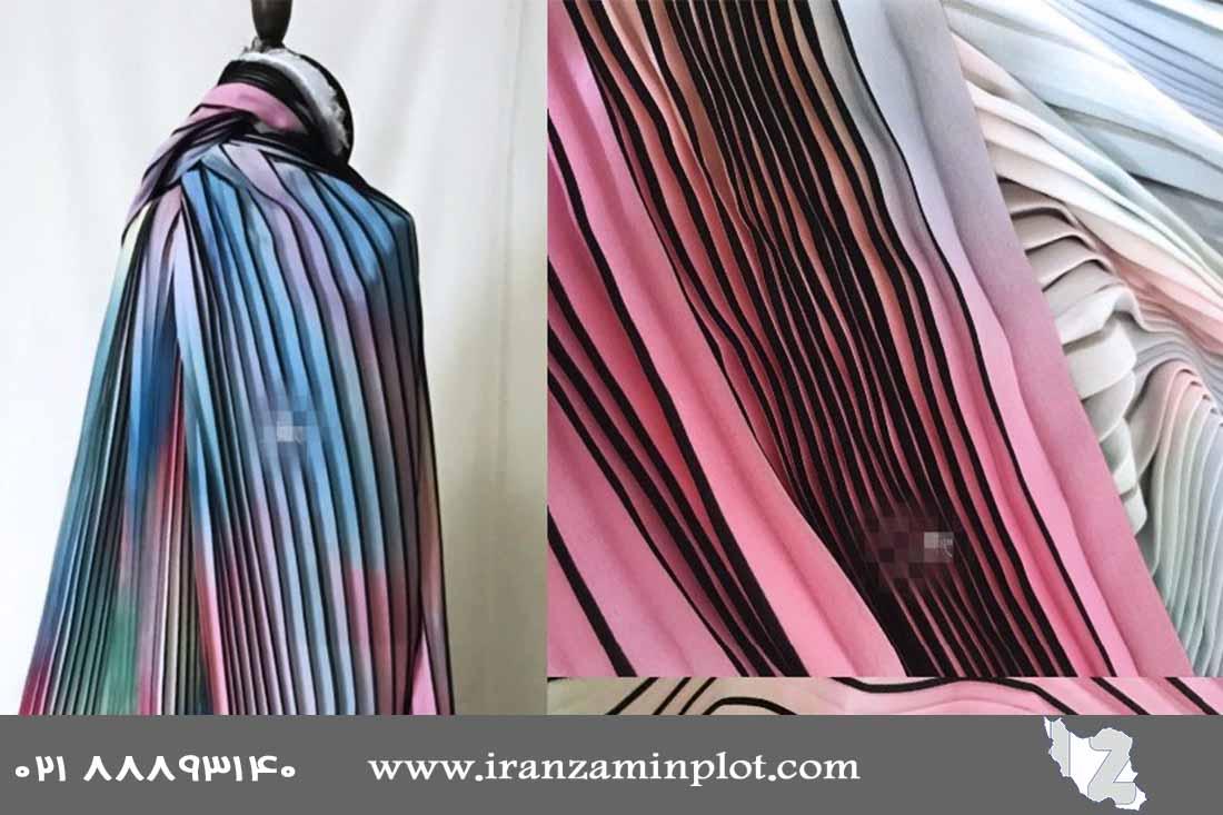 چاپ روی پارچه به روش دیجیتال-چاپخانه ایران زمین