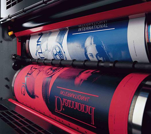 دستگاه های چاپ افست